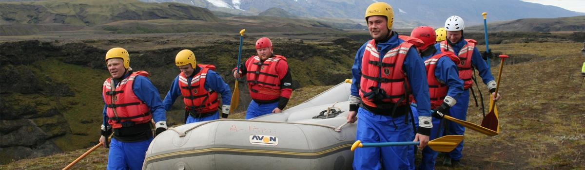 rafting, groups, iceland